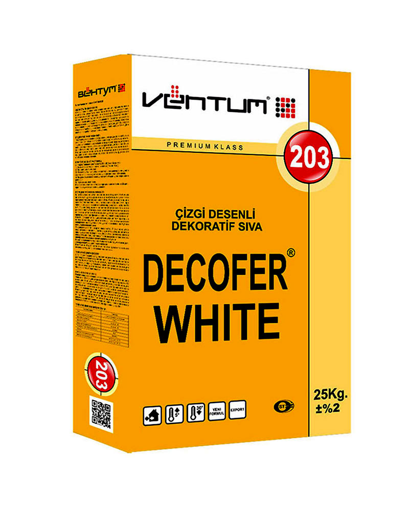 DECOFER WHITE